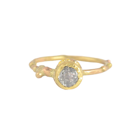 NEW! Salt & Pepper Diamond Ring by Variance