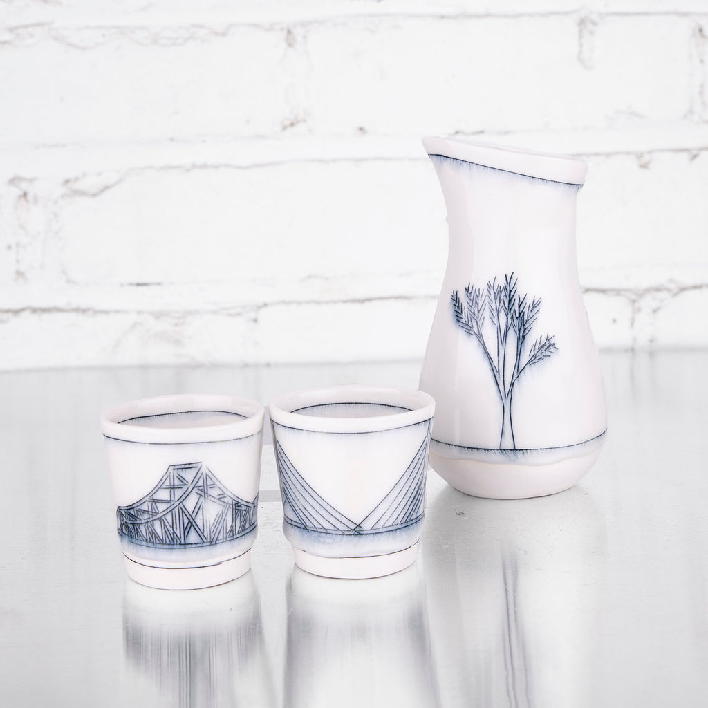 Sake Set by Liz Kinder