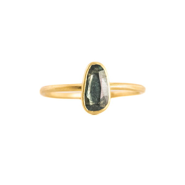 NEW! .72ct Sapphire Solitaire Ring by Sarah Mcguire