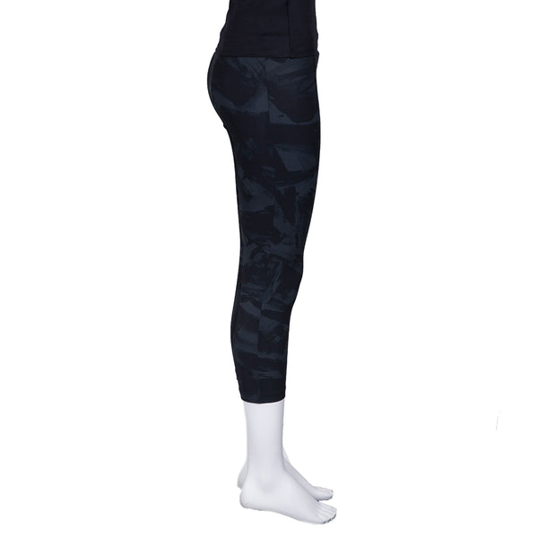 NEW! Sasha Cropped Legging in Coal Shodo Print by Porto