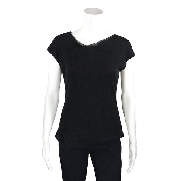 NEW! Savannah Top in Black by Porto