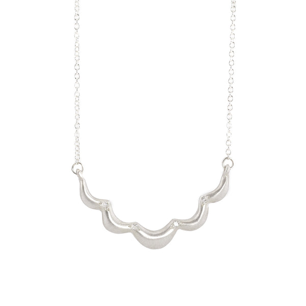 NEW! Sterling Silver Scallop Necklace by Branch