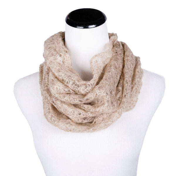SALE! Spider Web Loop Scarf by Olena Zylak