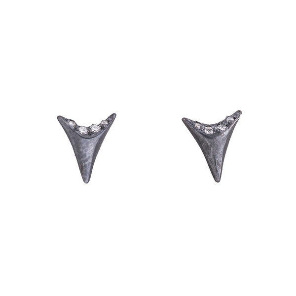 NEW! Mini Shark Tooth Earrings by Branch