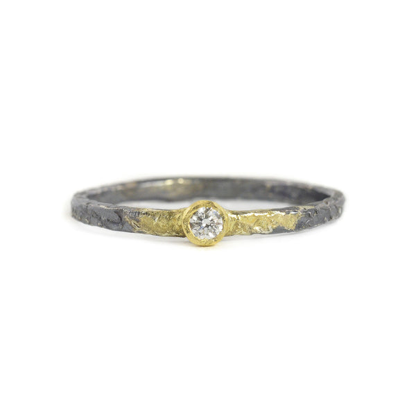 NEW! Diamond Shine On Stacker Ring by Kate Maller