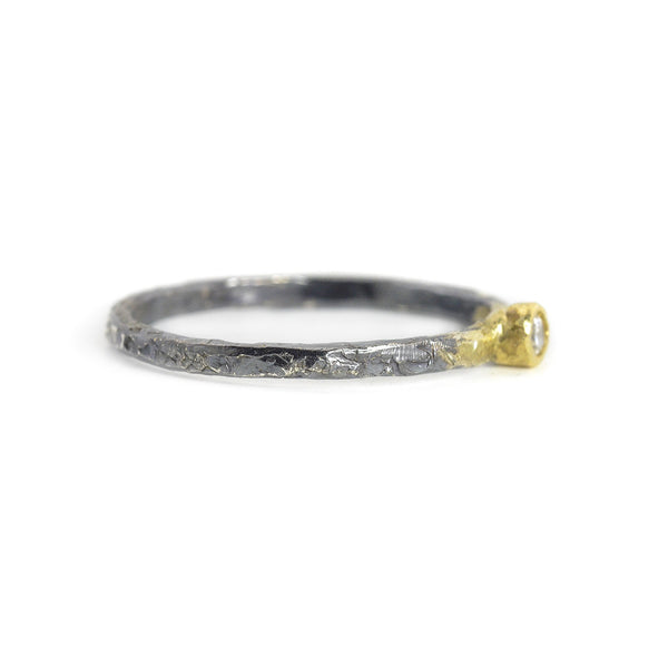 NEW! .0625 ctw Diamond Shine On Stacker Ring by Kate Maller