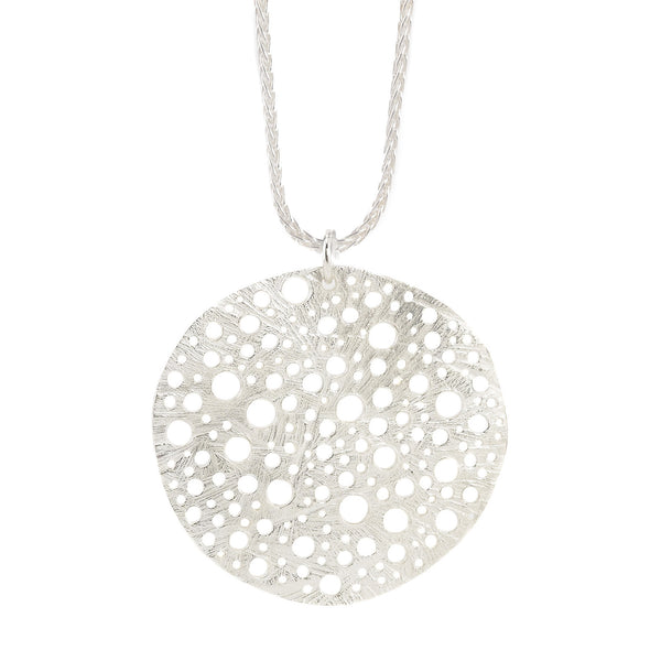 NEW! Siv Circle Pendant by Dahlia Kanner