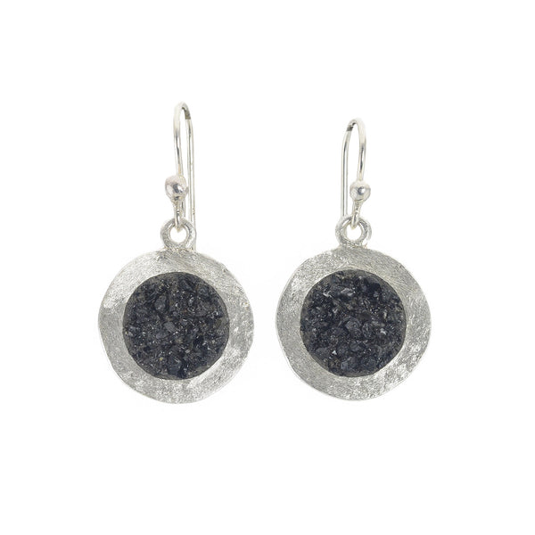 NEW! Sterling Silver Dime Earrings in Multiple Colors by David Urso