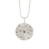 NEW! Sterling Silver Dig with Champagne Diamond Necklace by Dahlia Kanner