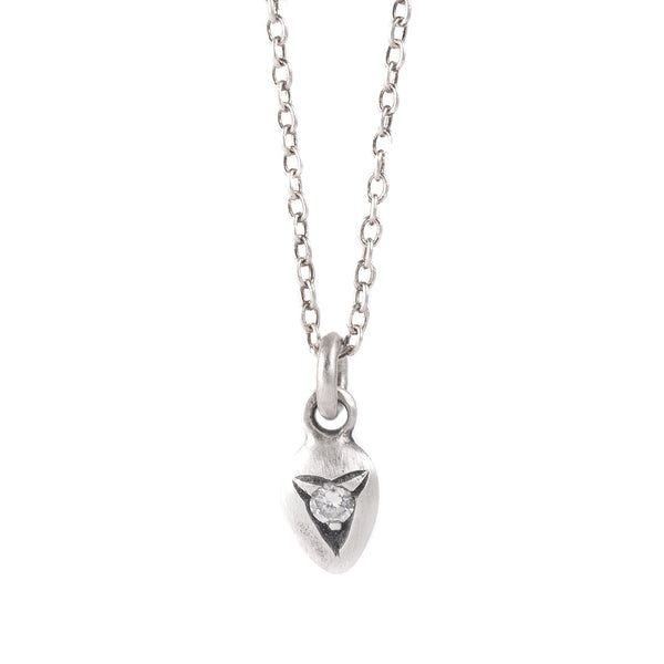 NEW! Mazs Diamond Silver Necklace by Dan-Yell