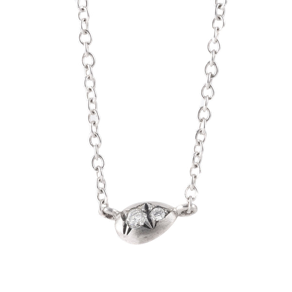 NEW! Pisa Diamond Silver Necklace by Dan-Yell