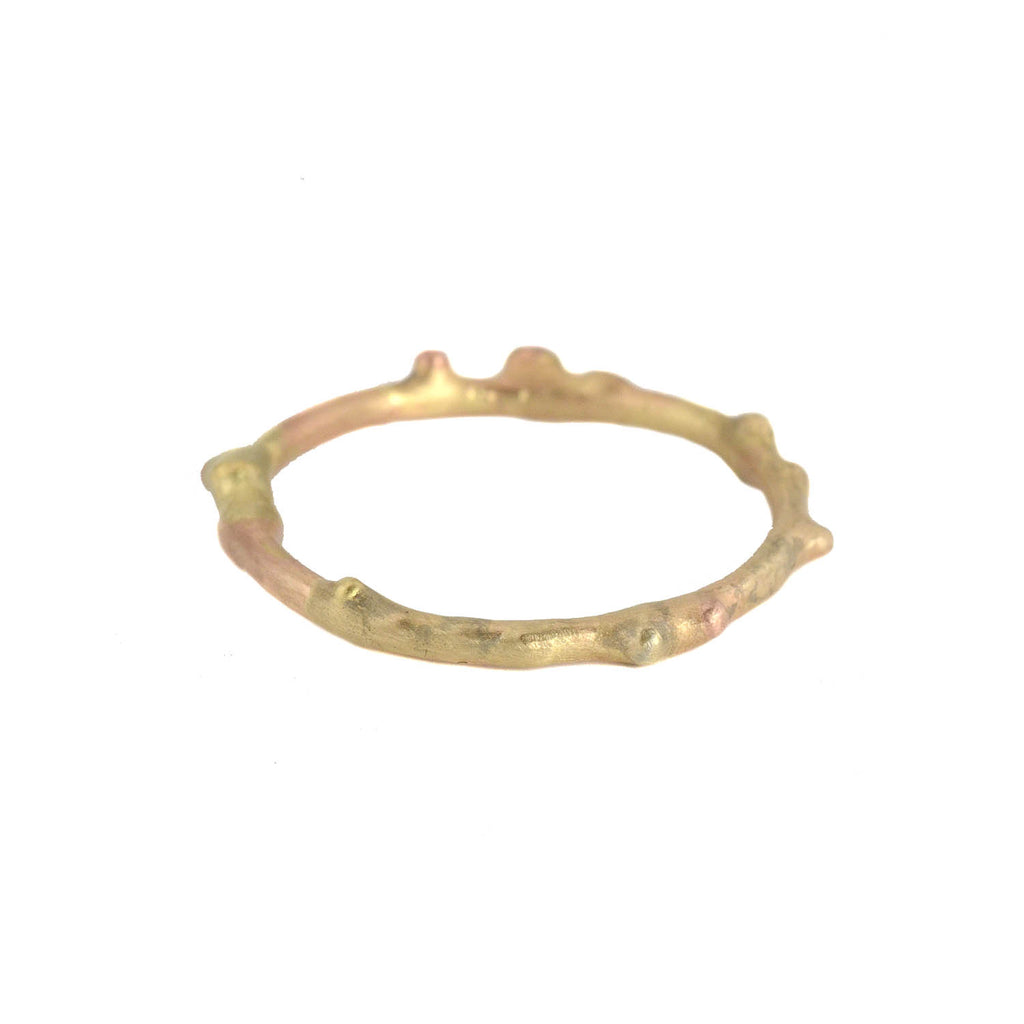NEW! Gold Textured Skinny Band by Variance Objects