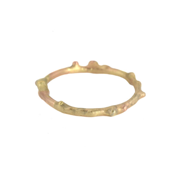 NEW! Gold Textured Skinny Band by Variance