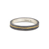 NEW! Inlay Stack Ring in Black by Shaesby