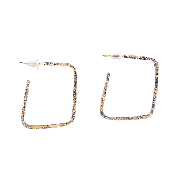 NEW! Slice Square Earrings by Kate Maller