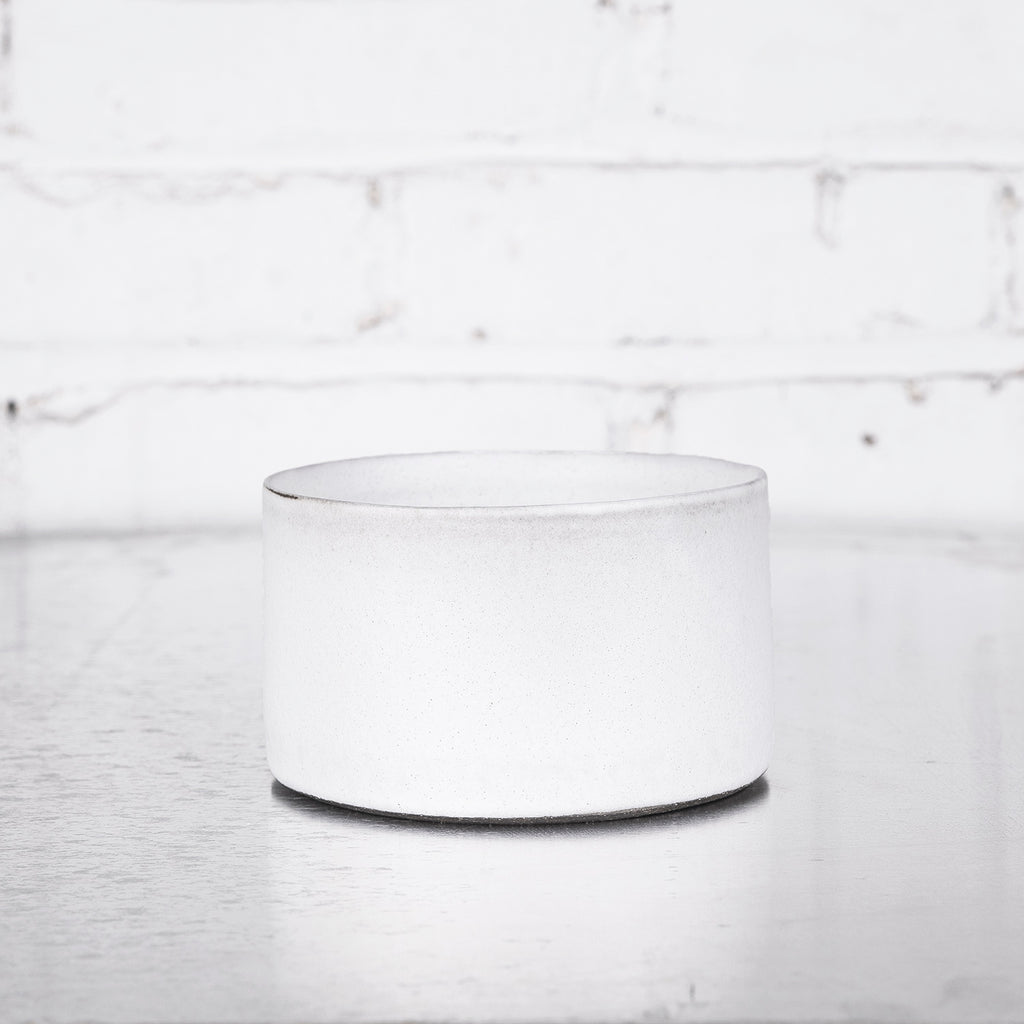 Short White Cylinder by Tracie Hervy