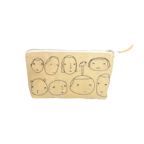 Small Everyday People Pouch by K Studio