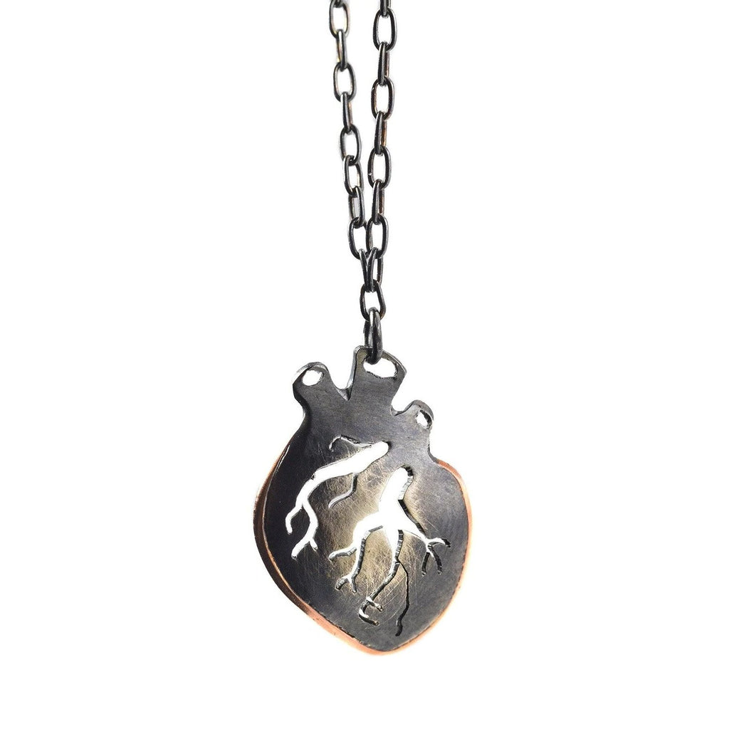 NEW! Medium Heart Necklace by Luana Coonen
