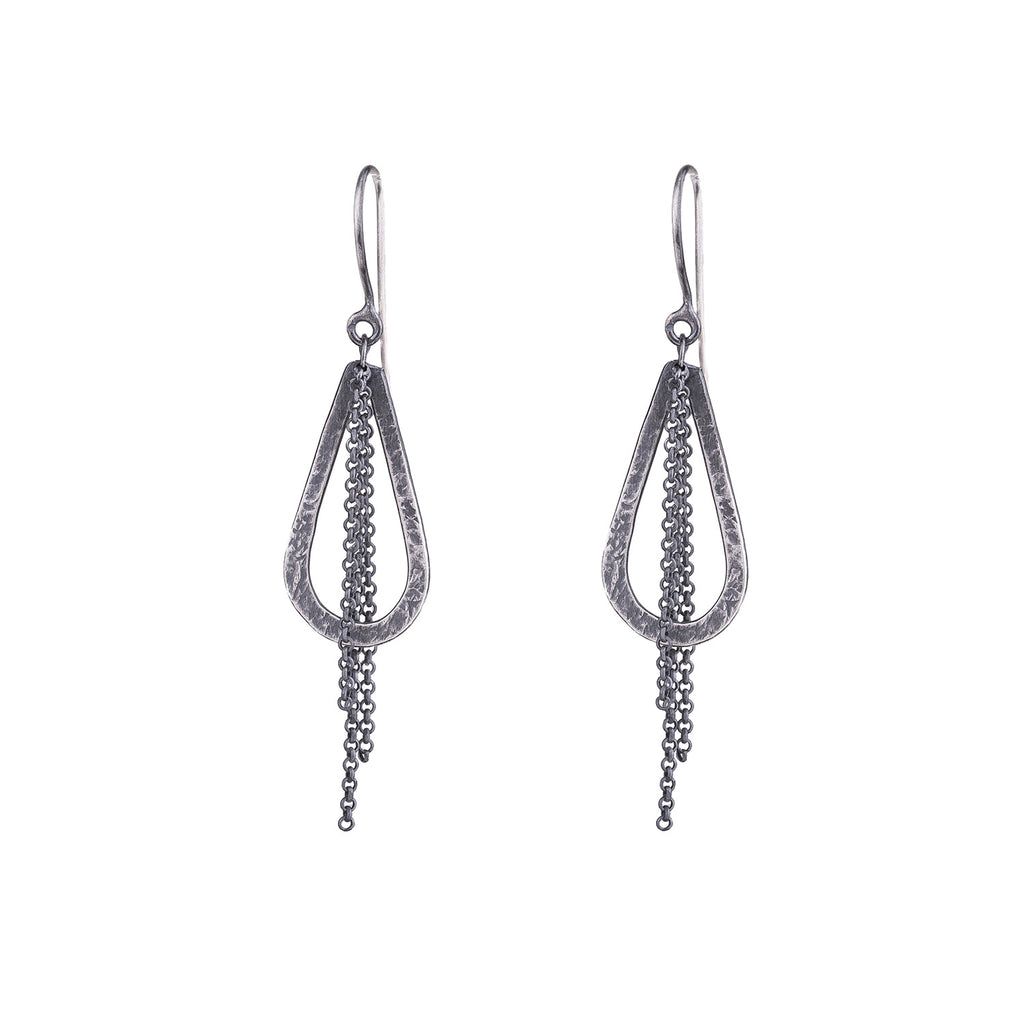 NEW! Small Hoop & Chain Earrings by Sasha Walsh