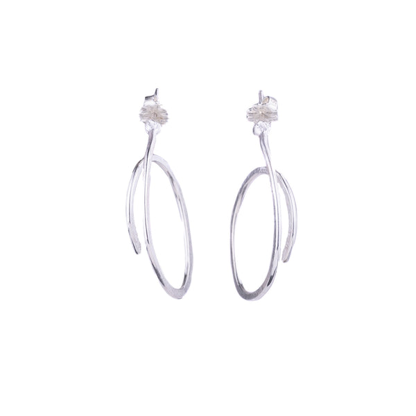 NEW! Small Spring Hoop Earrings by Melle Finelli