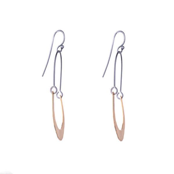 NEW! Small RC Swing Half Hoop Earrings by Lisa Crowder