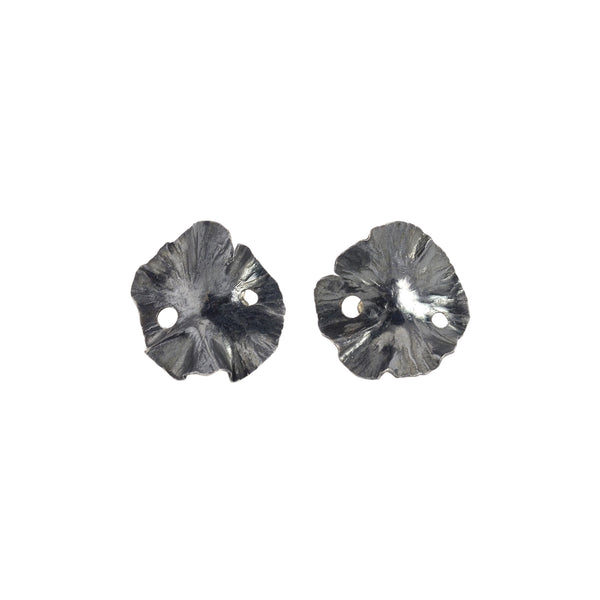 NEW! Small Lily Pad Post Earrings by Melle Finelli