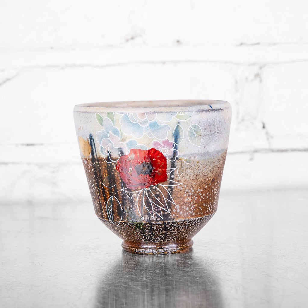 NEW! One-of-a-Kind Soda Fired Cup by Justin Rothshank