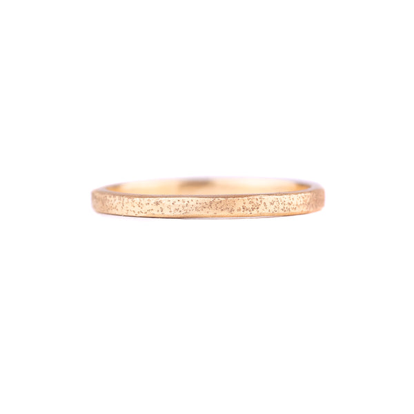NEW! Radiance Stacker Ring -Sparkled 18k Gold by Kate Maller