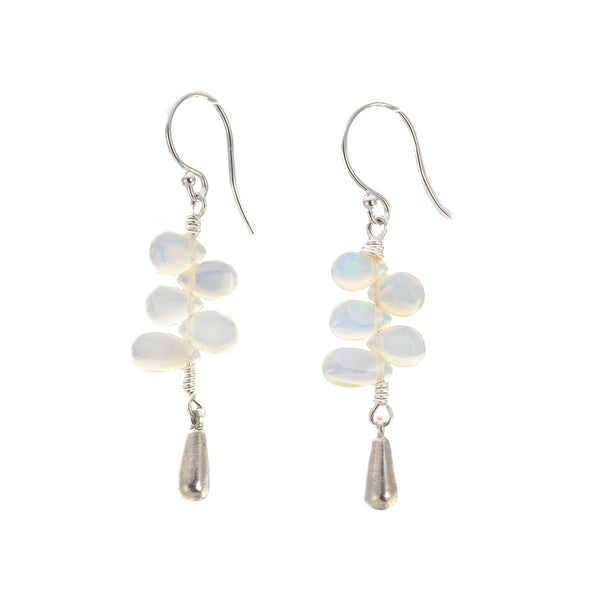 NEW! Stack Tassel Opal Earrings by Serena Kojimoto