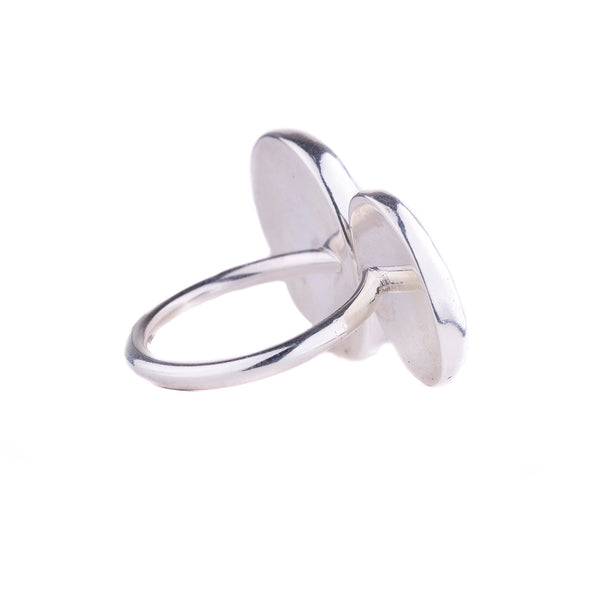 NEW! Stone Duo Ring by Beth Clark