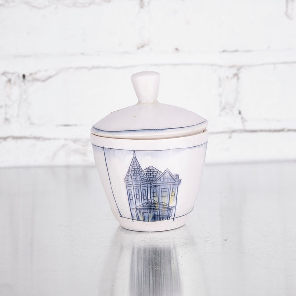 NEW! Sugar Bowl with Home Design by Nicole Aquillano