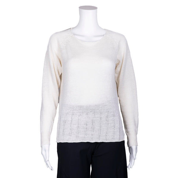 SALE! Roundneck Pullover Sweater in Natural by MJ Watson