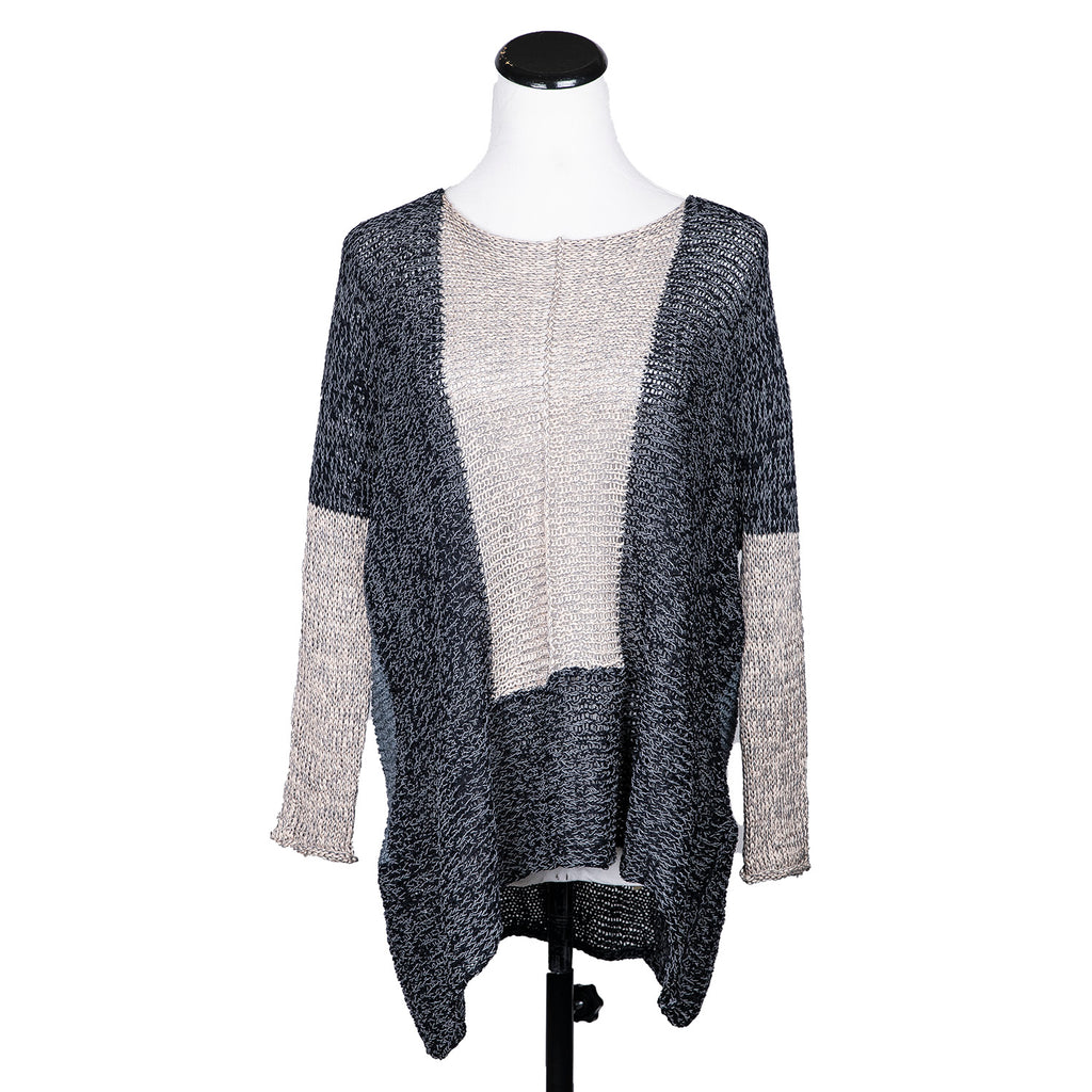 NEW! Field Sweater in Dark Neutral Mix by Skif