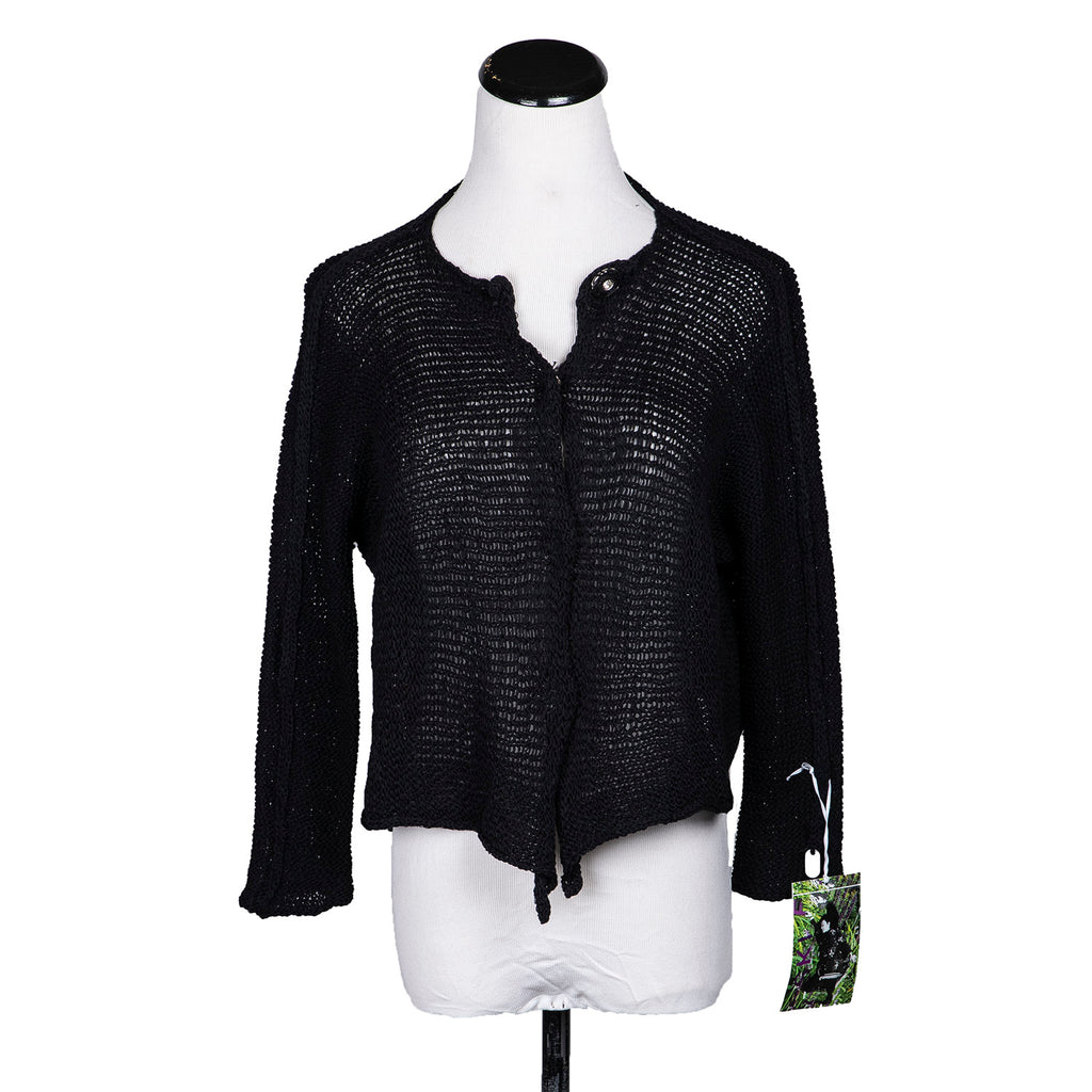 NEW! Marconi Cardigan in Black by Skif