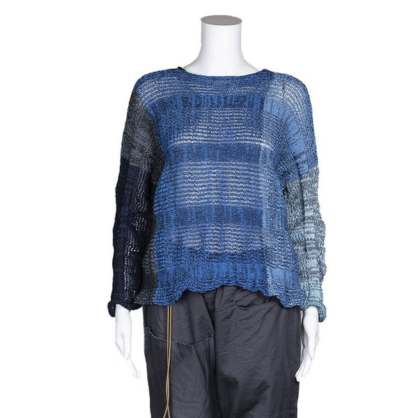 NEW! Zanotta Pull Over in Blue by Skif
