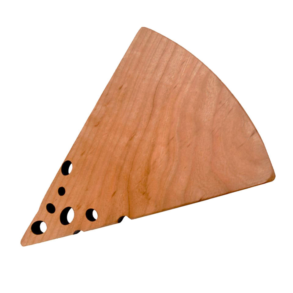 Cherry Swiss Cheese Board by Jonathan's Spoons - Fire Opal