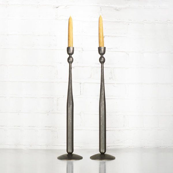 "NEW! 16"" Ball Taper Candle Holders by Blackthorne Forge"