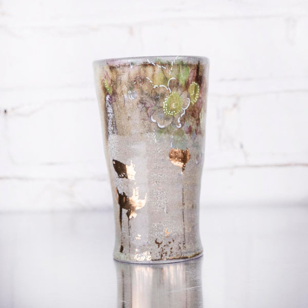 NEW! One-of-a-Kind Tall Cup by Justin Rothshank