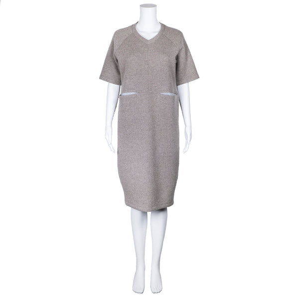 SALE! Gemma Dress in Taupe by Shosh