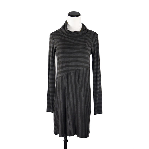 NEW! Tangled Tunic in Charcoal Stripe by Spirithouse