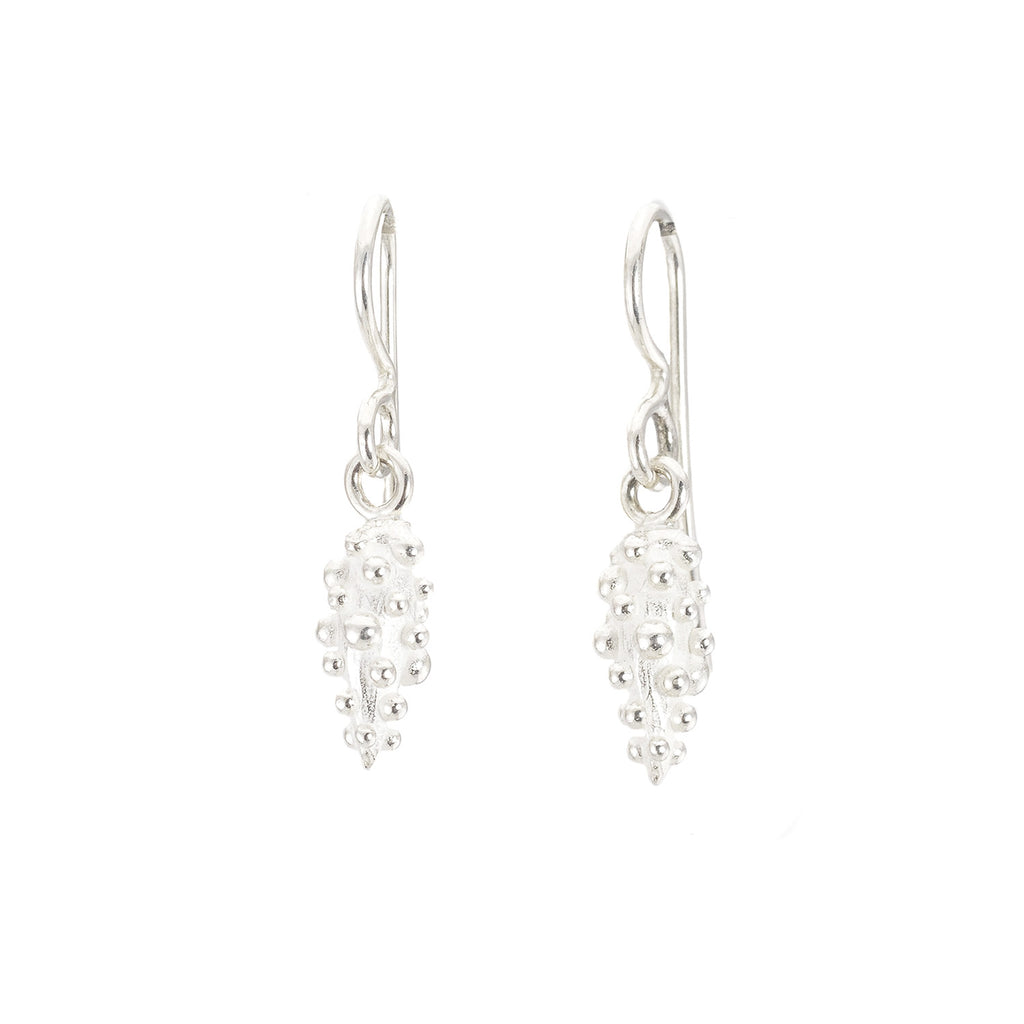 NEW! Sterling Silver Bumpy Drop Earrings by Dahlia Kanner