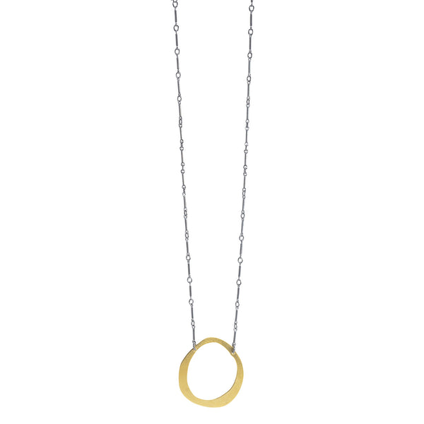 NEW! Thin RC Necklace in Gold Vermeil by Lisa Crowder