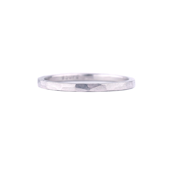SALE! Hammered Palladium Band by EC Design