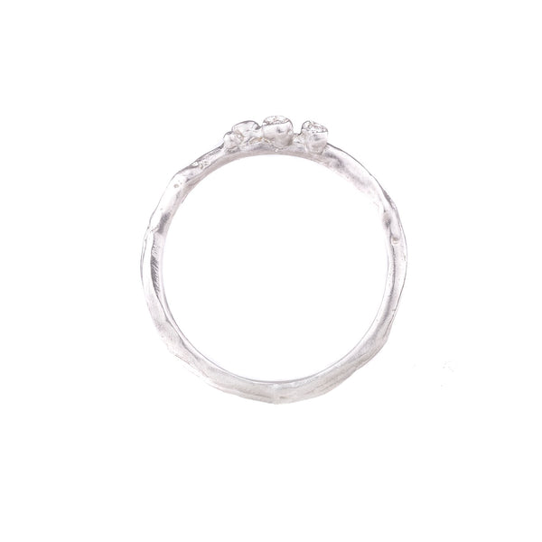 NEW! Sterling Silver Tiny Branch Ring by Branch
