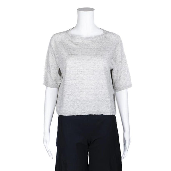 SALE! Roundneck Pullover Sweater in Stone by MJ Watson