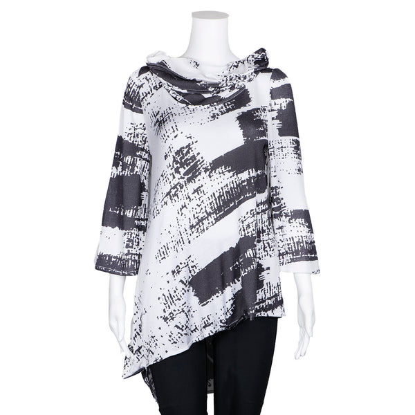 SALE! Long Sleeve Patterned Top by Karaka