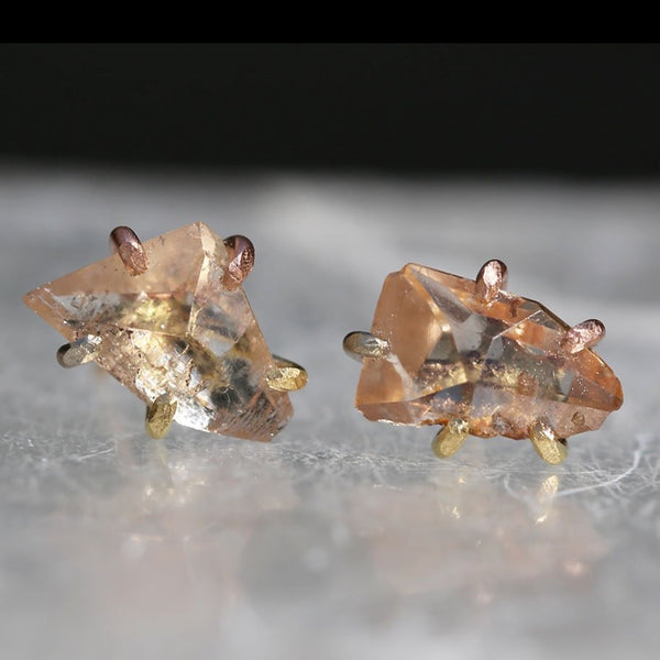 NEW! Large Topaz Studs by Variance Objects