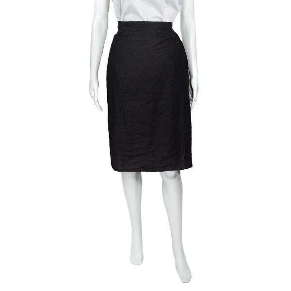 SALE! Linen Tote Skirt in Black by Pip-Squeak Chapeau