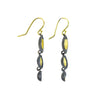 NEW! Triple Oyster Dishy Earrings by Sarah Richardson