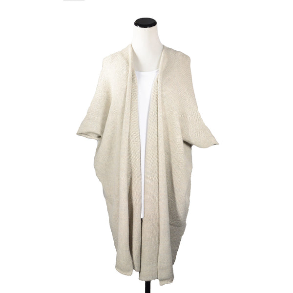 Tristate Duster in Natural/Silver by Isobel & Cleo